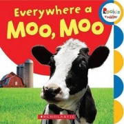 Everywhere a Moo, Moo by Children's Press