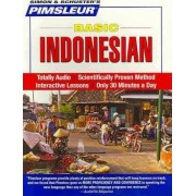 Pimsleur Indonesian Basic Course - Level 1 Lessons 1-10 CD by Pimsleur