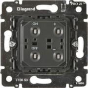 Galea Life nyomógombos fényerőszabályzó dimmer mechanizmus, 40-600W (775653), Legrand