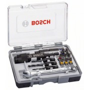 Комплект битове за винтоверт Drill&Drive, с HSS свредла и гаечен ключ, 20 части, 2607002786, BOSCH