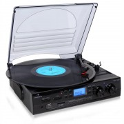 Auna TT - 186E Turntable stereo cu înregistrare USB MP3