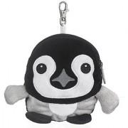 Emperor Penguin Chick Stuffed Animal Plush Pouch Purse Animal Case Clip on Bag Animal Zipper Pouch Wallet Bag