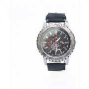 Force Time Black Analog Watch