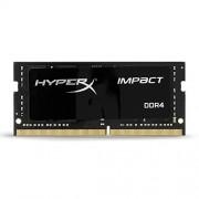 Kingston HX421S13IB/8 8Gb DDR 4 Pc 2133 Hyperx Impact Scheda di Memoria, Nero