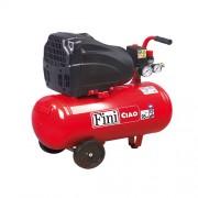 Compresor de aer Fini CIAO 24/OL1850, 230 V, 1.1 kW, 179 l/min, 8 bar, 24 l