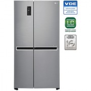 LG 687 L GC-B247SLUV Side In Side SidsE Side Refrigerator - SHINEY STEEL