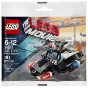 Лего Филмът Супер тайните полицейски сили 40 части в оригинална опаковка, The Lego Movie, 30282