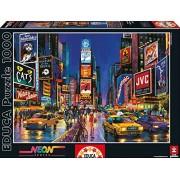 Educa - 13047 - Puzzle Adulte Neon 1000 pièces - Times Square, New York