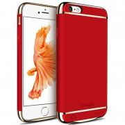 Husa cu Acumulator Ultraslim iPhone 6 Plus/6s Plus, iUni Joyroom Power Case 3500mAh, Rosu