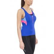 Castelli Regina Koszulka kolarska bez rękawów Kobiety niebieski L Koszulki rowerowe bez rękawów