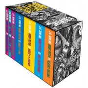 Harry Potter Boxed Set: The Complete Collection (Adult Paperback) by J. K. Rowling