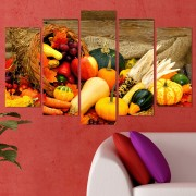 Декоративeн панел за стена с натюрморт от есенни плодове Vivid Home