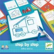 Djeco - Malen lernen step by step ''Arthur und Co''