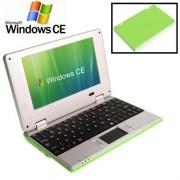 7.0 inch Windows CE Notebook PC EPC 701 CPU: VIA WM8850 A9 1.5GHz(Green)
