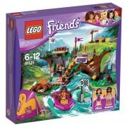 LEGO Friends - Campamento de aventura: rafting (41121)