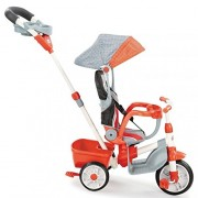 Little Tikes 5-in-1 Deluxe Ride & Relax, Reclining Trike - Red by Little Tikes