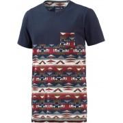 O'NEILL 37 Degrees North T-Shirt Herren in blau/rot/beige, Größe: S