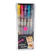Depesche 006683 Top Model Set, Penne Glitterate, 5 pezzi