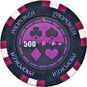 Kerámia póker zseton 500 pro-poker