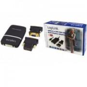 LogiLink Adaptateur vidéo USB, USB-A mâle vers DVI-I 24+5,