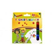 10 Malinos T-SHIRT ZAUBER Stifte Textilstifte Zauberstifte NEU