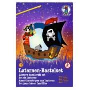 Laternen Bastelset-Easy Line Pirat