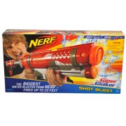 Nerf Super Soaker Series Water Blaster Shot Blast With Pump Handle And Shoulder Stock (Capacity: 38 Fl Oz., Distance: Up To 25 Ft.)