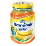 Hame Gustare bebelusi 190 g Happy Fruit 100% Banane de la 4 luni