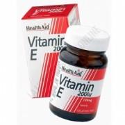 Vitamina E natural 200 UI Health Aid 60 c
