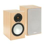 Boxe - Monitor Audio - Silver 1 Black Oak