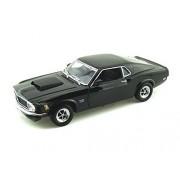1970 Ford Mustang Boss 429 1/18 Black