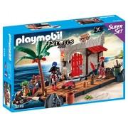 Playmobil 6146 - Superset Covo dei Pirati