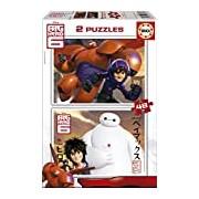 Educa 16336 Puzzle-Big Hero 6 / 2 x 48 Pieces
