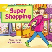 Rigby Star Guided 1 Yellow Level: Super Shopping Pupil Book (Single)