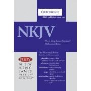 NKJV Pitt Minion Reference Edition NK446:XR Black Goatskin Leather by Cambridge Bibles