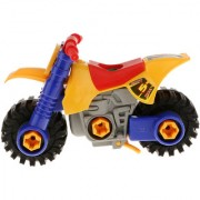 Magideal Kids Boy Girls Motorcycle Cars Educational Assembled Toys Building Blocks