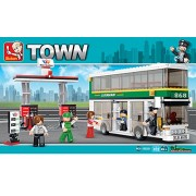 Sluban DOUBLE-DECKER-403PCS ( M38-B0331 ) (Lego compatible)