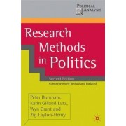 Research Methods in Politics by Peter Burnham