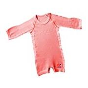 Mebby Épais Body pour Bébé à Longues Manches - Orange - 0 à 3 ans