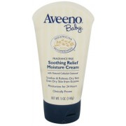 Aveeno Baby Soothing Relief Moisture Cream Fragrance Free 5 Oz (Pack Of 4) By Aveeno