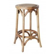 Cross Counter Stool - American Oak - Various Colours