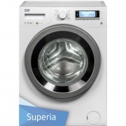 Masina de spalat rufe Beko WMY81443STB1, A+++, 8 Kg, 1400 Rpm, Motor Inverter Pro Smart, Display Digital, Alb