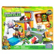 Mega Bloks Teenage Mutant Ninja Turtles Half Shell Heroes Turtle Lair Battle
