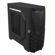 Mars Gaming MC316 Case Middle Tower ATX per PC con USB 3.0, Nero