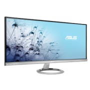 Asus - MX299Q - MX299Q - LCD - 300 cd/m² - 80000000:1 - 5 ms - Dimensiune punct 0.26 mm - Unghi vizibilitate 178/178 ° - DVI - HDMI - Display Port - Boxe 2 x 3 W - Kensington lock - Negru-Argintiu