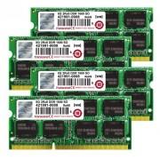 Transcend TS32GJMA524H JetMemory - Kit memoria DDR3-RAM da 32 GB (4 x 8 GB, 1600 MHz, CL11) per Apple iMac