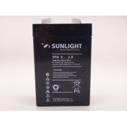 Sunlight 6V - 2.8Ah baterie AGM VRLA SPA 6 - 2.8