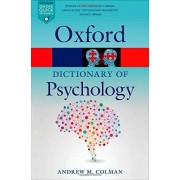 Andrew M. Colman A Dictionary of Psychology (Oxford Quick Reference)