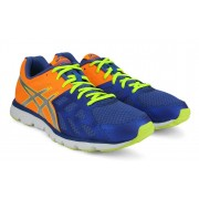 Asics Gel-Zaraca 3 Men Running Shoes(Blue, Orange, Silver)