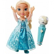 Frozen Disneys Sing Along Elsa with Light Up Necklace Doll